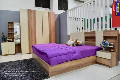 ชุดห้องนอน PERFECT NEMEGAN 6FT.