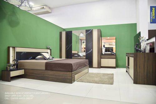 ชุดห้องนอน Perfect New Roma 6ft.